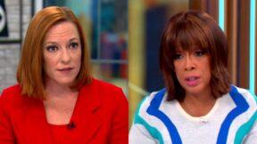 Jen Psaki Bristles at CBS' Gayle King's Description of 'Bad Behavior' By Biden Administration