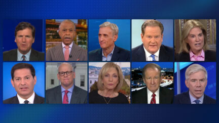 The many anchors who have hosted MSNBC's 6 PM hour