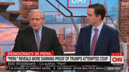Peril Remains: Bob Woodward Explains last words of his book.