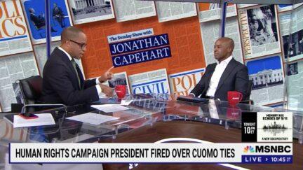 Jonathan Capehart interviews Alphonso David