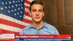 Madison Cawthorn slams vax requirements for air travel