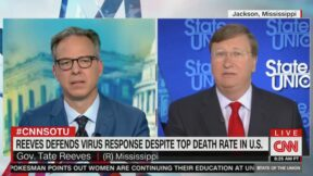 Jake Tapper, Tate Reeves Face Off on Covid Death Rates