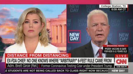 Brett Giroir Responds to Scott Gottlieb on CNN's New Day