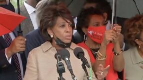 Maxine Waters comparing treatment of migrants to slavery