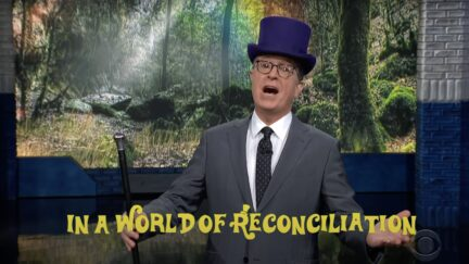 Stephen Colbert sings on the Late Show to explain Congress