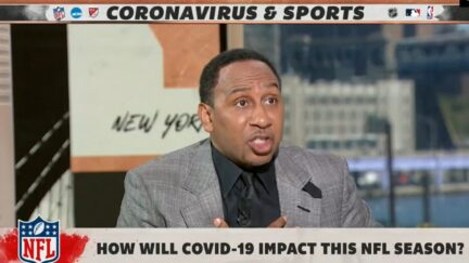 Stephen A. Smith rips athletes for refusing the Covid vaccine on ESPN's First Take