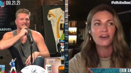 Erin Andrews tells Pat McAfee about interviewing Bill Belichick