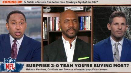 Stephen A. Smith sees racial bias against NFL star Christian McCaffrey