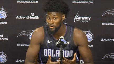 Jonathan Isaac says Trump videos didn't influence his vaccine decision