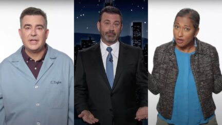 Jimmy Kimmel invites scientists to discuss climate change