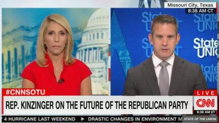 Adam Kinzinger Says GOP Shouldn't Have Majority If They Keep Pushing Lies