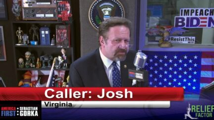 Seb Gorka Appears to Bust GOP Operative Calling In