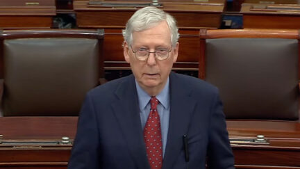 Mitch McConnell Gets Covid-19 Booster Shot