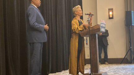 Rose McGowan endorses Larry Elder