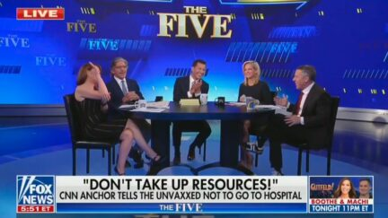The Five Blasts Don Lemon Comments About Unvaccinated People