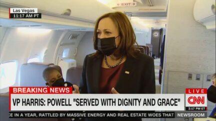 VP Harris remembers Colin Powell