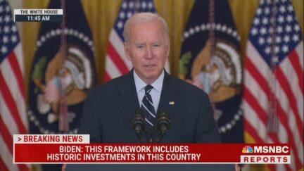 Biden addresses the nation on Oct. 28
