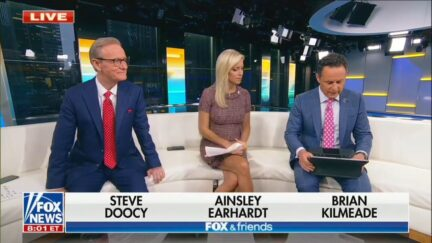 Fox & Friends Comes to a Screeching Halt as Brian Kilmeade Googles Something