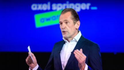 Axel Springer CEO Mathias Döpfner
