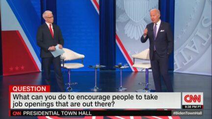 CNN Town Hall with President Joe Biden on Oct. 21