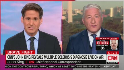 John King Discusses His Fight With MS