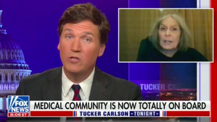 Tucker Carlson mocks