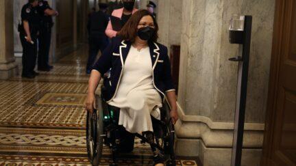 Tammy Duckworth in the U.S. Capitol