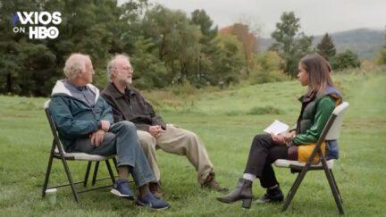 Alexi McCammond interviews Ben & Jerry for