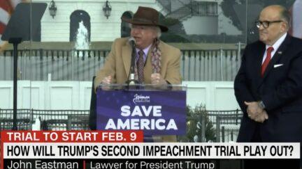 John Eastman at Save America Rally