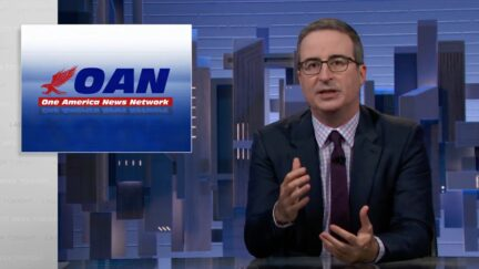 John Oliver takes on AT&T, OAN