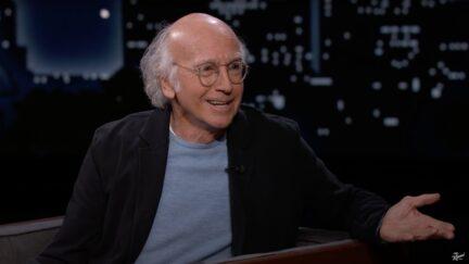 Larry David on Jimmy Kimmel Live