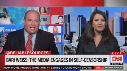 Brian Stelter, Bari Weiss on CNN