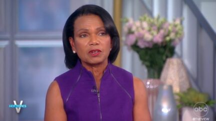 Condi Rice on The View