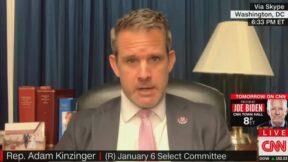 Adam Kinzinger on CNN