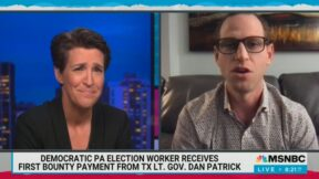 Eric Frank explains how he busted voter fraud
