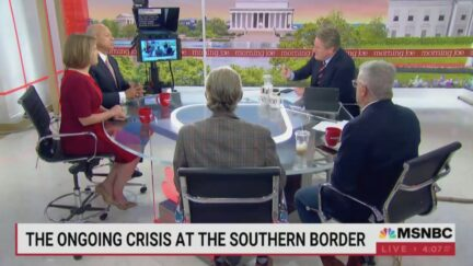 Morning Joe Call for Immigration Control