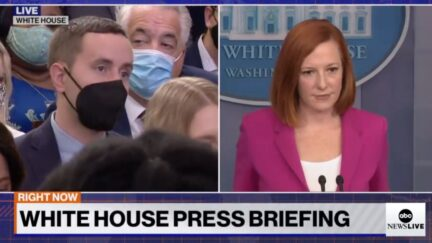 Steven Nelson and Jen Psaki go back and forth on Oct. 22