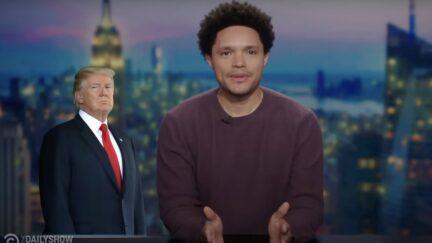 Trevor Noah roasts Trump on the Daily Show