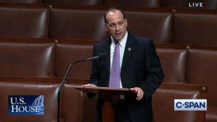 Bob Good speaking on House floor