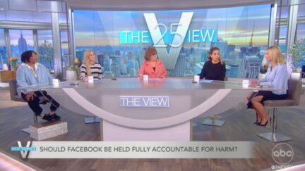 The View Slams Facebook, Mark Zuckerberg