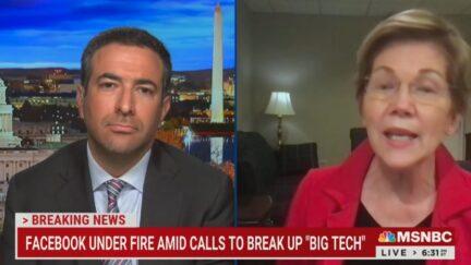 Elizabeth Warren calling for Facebook to be broken up