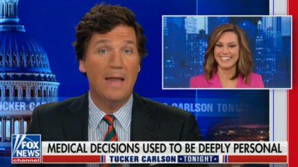 Tucker Carlson defending Lisa Boothe
