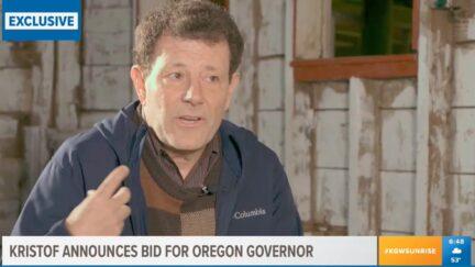 Nicholas Kristof announces run for Oregon governor