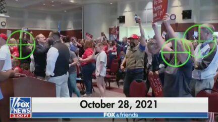 Fox & Friends Graphic Accuses Merrick Garland of Targeting Parents
