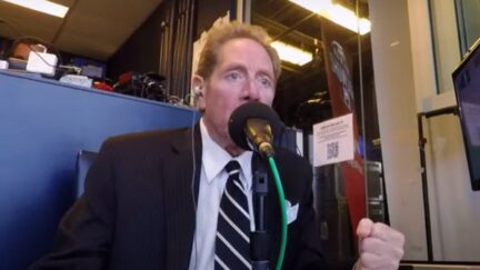 John Sterling gets duped by the Green Monster