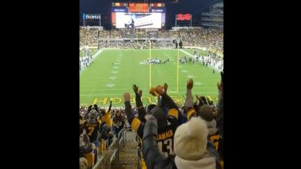 Steelers crowd ripped for doing the wave while Seahawks player was injured