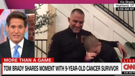 10-year-old cancer survivor details meeting with Tom Brady on CNN