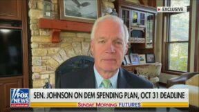 Ron Johnson Called Out for Saying 'Pray' for 'Democrat Gridlock'