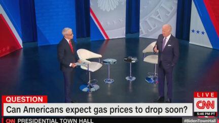 Biden Pressed on Economy at CNN Town Hall