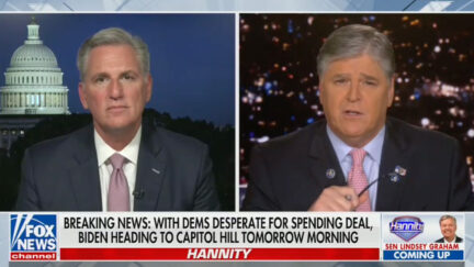 Sean Hannity Gives Kevin McCarthy a Message for McConnell